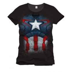 Camiseta Iron Man Captain Suit Armor Armadura