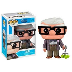 Figura Carl Up! Cabezon Pop Funko 10 cm