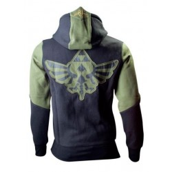 Sudadera Con Capucha Logo The Legend Of Zelda Green Character