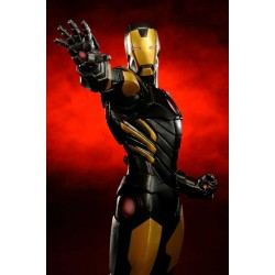 Estatua Iron Man Black Version (The Avengers Now) KOTOBUKIYA ARTFX+ 1/10 (19 cm)