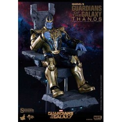Figura Thanos Guardianes de La Galaxia Hot Toys Masterpiece 38 cm
