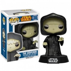Figura El Emperador (The Emperor) Star Wars Cabezon Pop Funko 10 cm