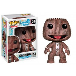 Figura Sack Boy (Sackboy) en Little Big Planet Cabezon Pop Funko 10 cm
