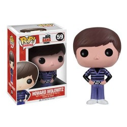 Figura Howard Big Bang Theory Cabezon Pop Funko 10 cm