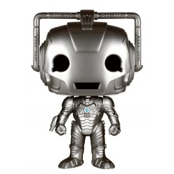 Figura Cyberman Doctor Who Cabezon Pop Funko 10 cm