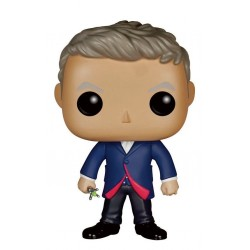 Figura Doctor 12th Doctor Who Cabezon Pop Funko 10 cm