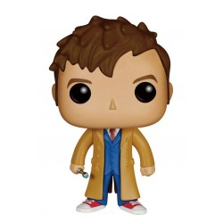 Figura Doctor 10th Doctor Who Cabezon Pop Funko 9 cm