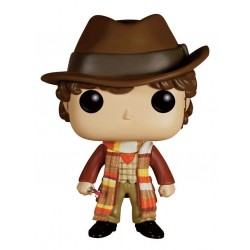 Figura Doctor 4th Doctor Who Cabezon Pop Funko 9 cm