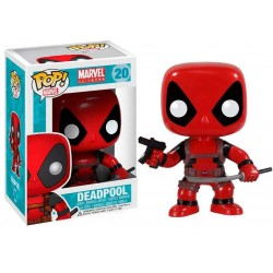 Figura Deadpool Marvel Comics Cabezon Pop Funko 10 cm