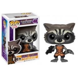 Figura Rocket Raccoon Guardianes De La Galaxia Funko Pop