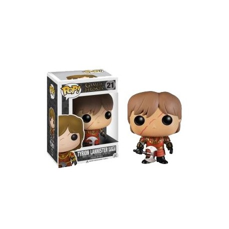 Figura Tyrion Lannister In Battle Armor Funko Pop