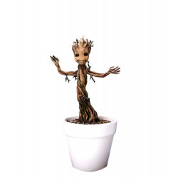 Estatua Baby Groot Dancing Maceta Guardianes de la Galaxia - Guardians of the Galaxy Action Hero Vignette 18 cm