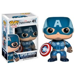 Figura Capitan America The Winter Soldier Pop Funko 10 cm