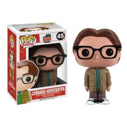 Figura Leonard Hofstadter The Big Bang Theory Cabezon Pop Funko 10 cm