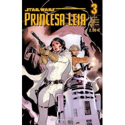 Star Wars Princesa Leia nº 03 - Marvel