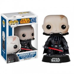 CABEZON DARTH VADER DESENMASCARADO STAR WARS FIGURA POP