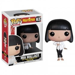 Figura Mia Wallace de Pulp Fiction Cabezon Pop Funko 10 cm