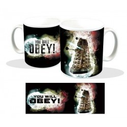 Taza Doctor Who Dalek You Will Obey