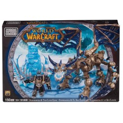 World of Warcraft Mega Bloks Kit de Construcción Arthas & Sindragosa Y