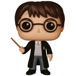 Figura Harry Potter de Harry Potter Cabezon Pop Funko 10 cm