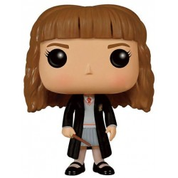 Figura Hermione Granger de Harry Potter Cabezon Pop Funko 10 cm