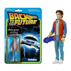 Figura Marty McFly Back to The Future Regreso Al Futuro 10 cm Reaction Funko
