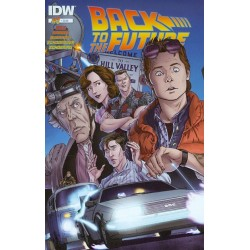Comic Back To The Future 01 - Regreso Al Futuro