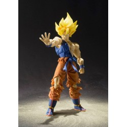 Figura Super Saiyan Son Goku Super Warrior Awakening 16 cm Dragon Ball Z S.H. Figuarts