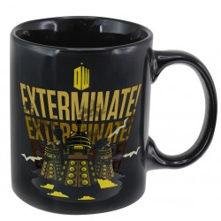 Taza Doctor Who Dalek Sensitiva Al Calor