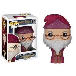 Figura Albus Dumbledore de Harry Potter Cabezon Pop Funko 10 cm