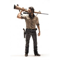 Figura Rick Grimes Deluxe The Walking Dead 25 cm