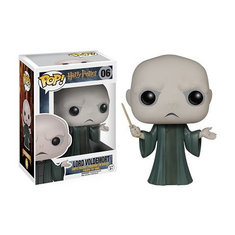 Figura Voldemort de Harry Potter Cabezon Pop Funko 10 cm