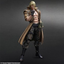 Figura Liquid Snake Metal Gear Solid Play Arts Kai 28 cm