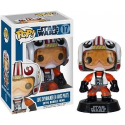 Figura Luke Skywalker X-Wing Pilot de Star Wars Cabezon Pop Funko 10 cm