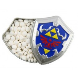 Pastillas Escudo Metalico The Legend Of Zelda 20 gr