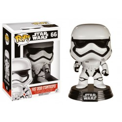 Figura Stormtrooper First Order de Star Wars Episodio VII Cabezon Pop Funko 10 cm