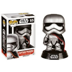 Figura Capitan Phasma de Star Wars Episodio VII Cabezon Pop Funko 10 cm