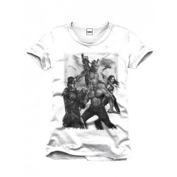 Camiseta Guardianes de La Galaxia Black & White
