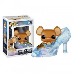Figura Gus Gus In Slipper Cenicienta Zapatito Pop Funko 10 cm