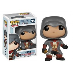 Figura Arno de Assassin´s Creed Cabezon Pop Funko 10 cm