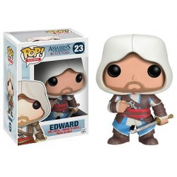 Figura Edward de Assassin´s Creed Cabezon Pop Funko 10 cm