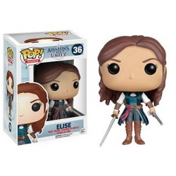 Figura Elise de Assassin´s Creed Unity Cabezon Pop Funko 10 cm