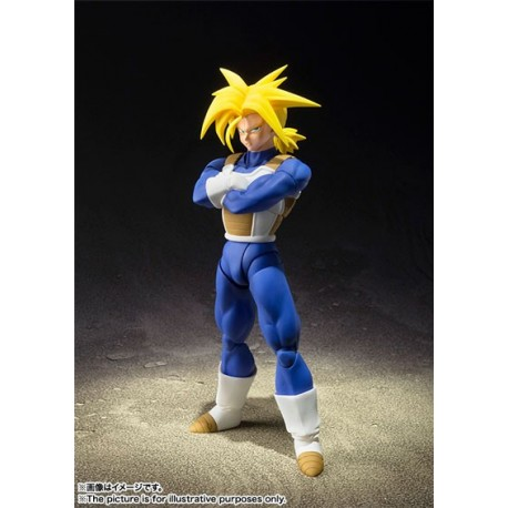 Figura Trunks Super Saiyan Dragon Ball Z SH Figuarts 14 cm