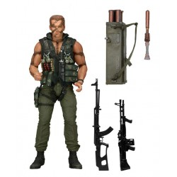 Figura Commando 30th Aniversario Ultimate John Matrix 18 cm - NECA