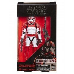 Figura Shocktrooper Battlefront Exclusive Black Series Star Wars 15 cm Hasbro
