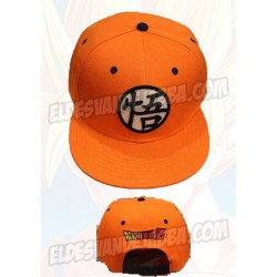 Gorra Dragon Ball Z Color Naranja Con Logo