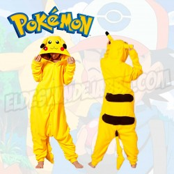 Pijama Pikachu de Pokemon Cosplay