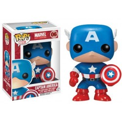 Figura Capitan America (Captain America) Version Comic Pop Funko 10 cm
