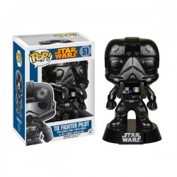 Figura Tie Fighter Pilot Piloto de Star Wars Cabezon Pop Funko 10 cm