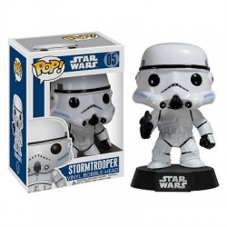 Figura Stormtrooper de Star Wars Cabezon Pop Funko 10 cm